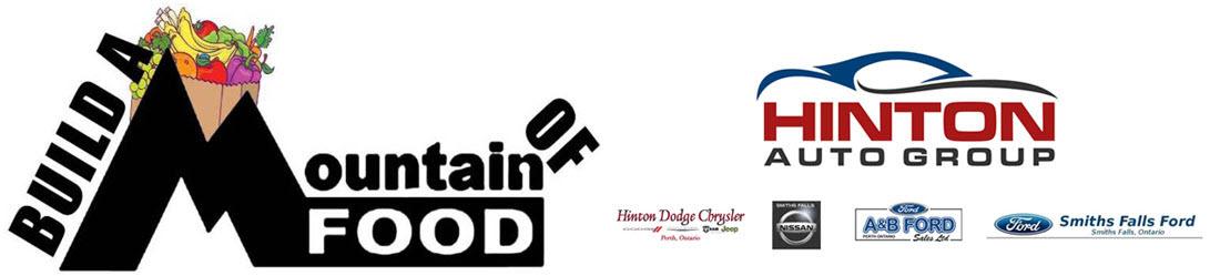 Hinton Auto Group Build a Mountain of Food